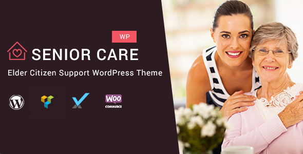 Image of Senior Care - Elder Citizen Support WordPress Theme