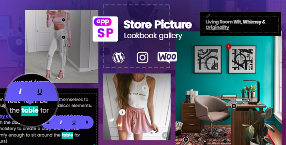 CodeCanyon Lookbook Instagram & Gallery Woocommerce WordPress 21257652