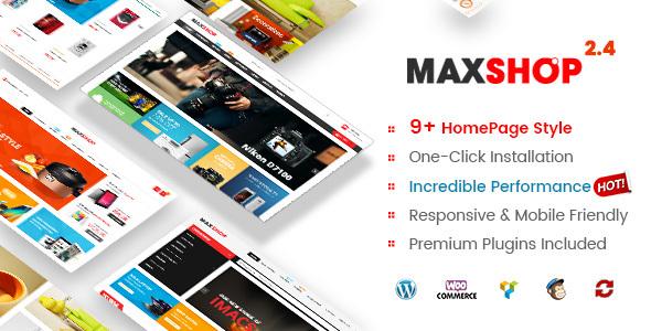 Maxshop | Multi-Purpose Responsive WooCommerce Theme - WooCommerce eCommerce