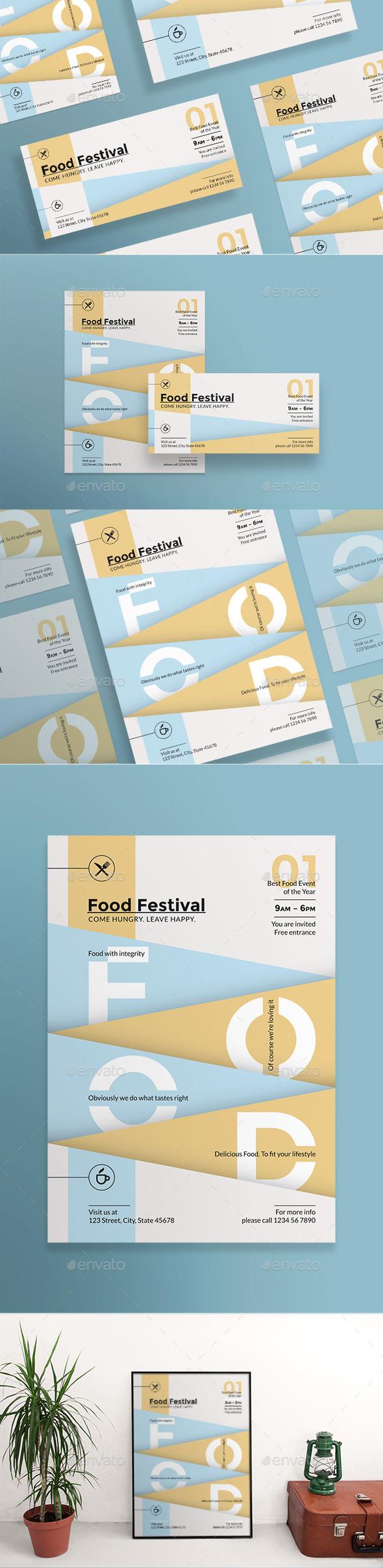 Food Festival Flyers - Restaurant Flyers