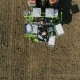 Sowing of Winter Crops on the Research station.Research and Development. Aerial View - VideoHive Item for Sale