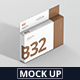 Box Mockup - Wide Slim Rectangle Size with Hanger - GraphicRiver Item for Sale