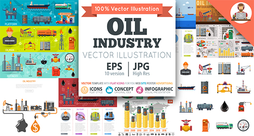 Oil Industry Themes