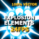 Energy Explosions And Transitions - VideoHive Item for Sale