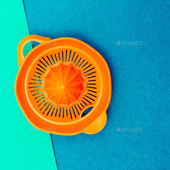 Juicer. Minimal style. - Stock Photo - Images