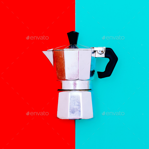 Kitchen accessories. Coffee maker