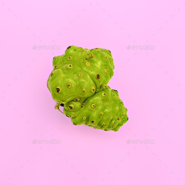 Exotic tropical vegetables. Minimal art - Stock Photo - Images