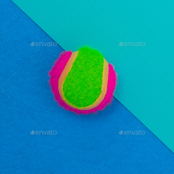Beach ball. Summer vibrations. Minimal - Stock Photo - Images