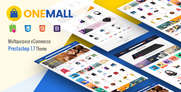 OneMall - Responsive PrestaShop 1.7 Multipurpose Theme Free Download | Nulled