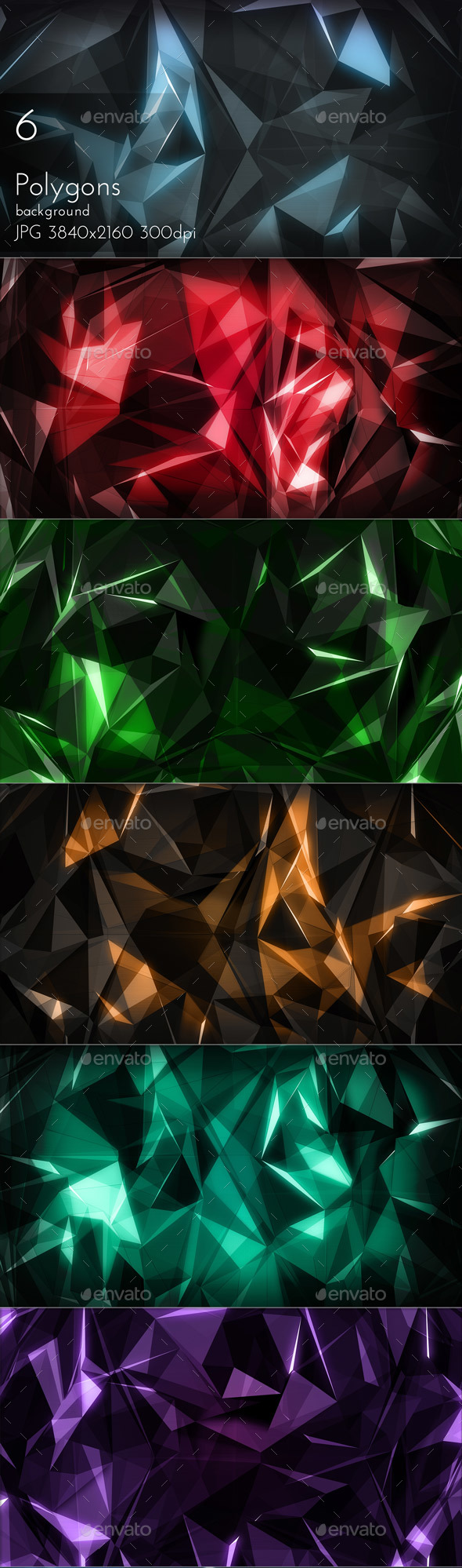 Polygons - Tech / Futuristic Backgrounds