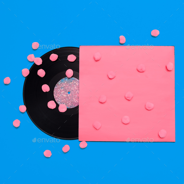Vinyl. Retro Art Design - Stock Photo - Images