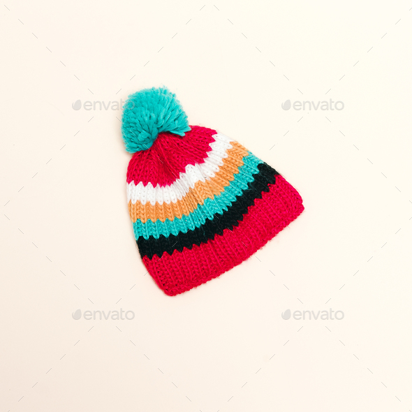 Minimalism style hipster fashion hat - Stock Photo - Images