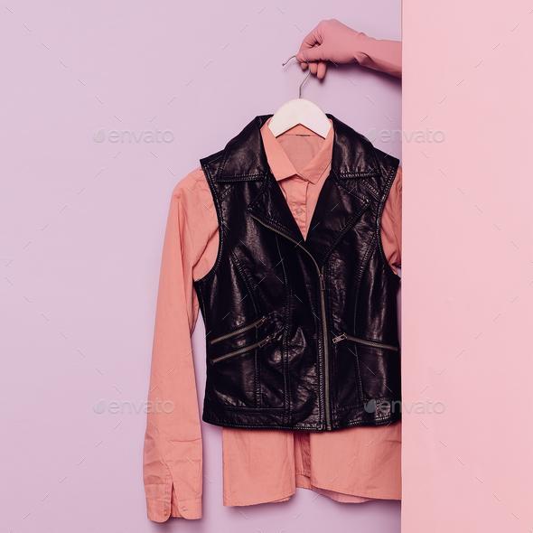 Fashion Clothing Flat Store - Stock Photo - Images
