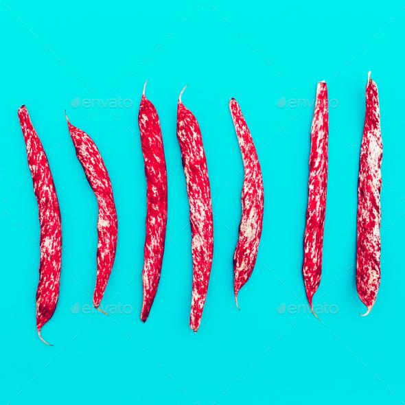 Beans Minimal art design - Stock Photo - Images