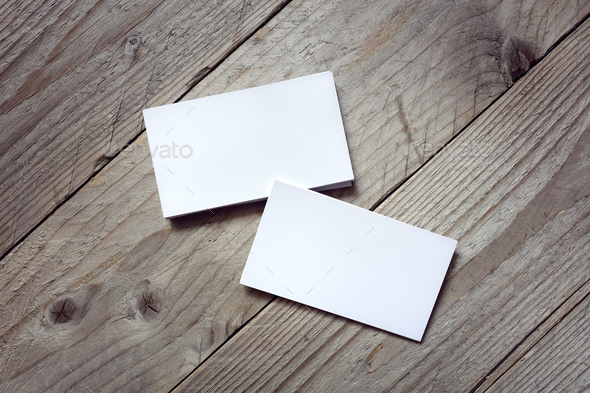 Business card template for branding identity - Stock Photo - Images