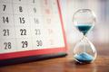 Hourglass and calendar - PhotoDune Item for Sale