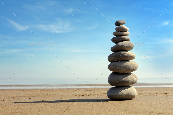 Stone balance - Stock Photo - Images