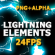 Flash FX Lightning Elements - VideoHive Item for Sale
