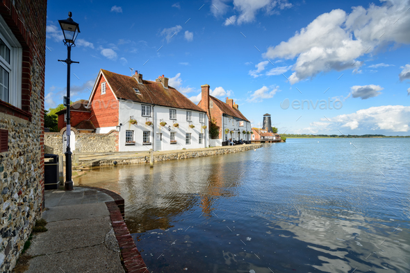 Langstone Quay in Hampshire - Stock Photo - Images