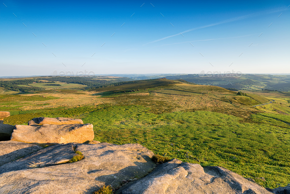Higger Tor in the Peak District - Stock Photo - Images