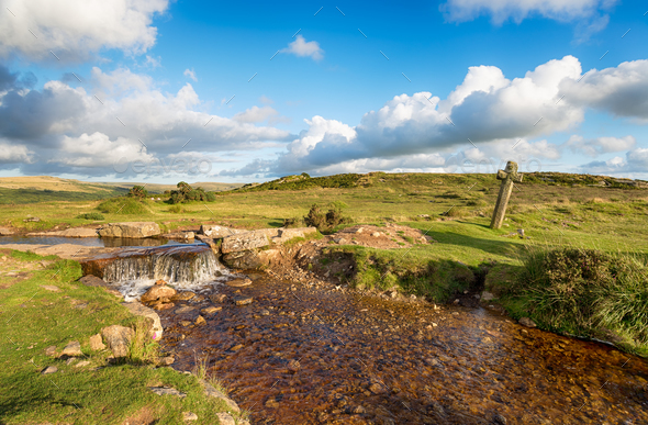 Dartmoor National Park - Stock Photo - Images
