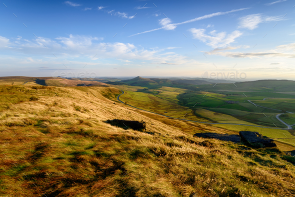 Shining Tor in the Peak District - Stock Photo - Images