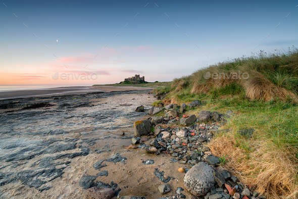 Bamburgh Castle - Stock Photo - Images