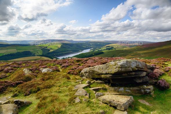 Derwent Edge in Derbyshire - Stock Photo - Images