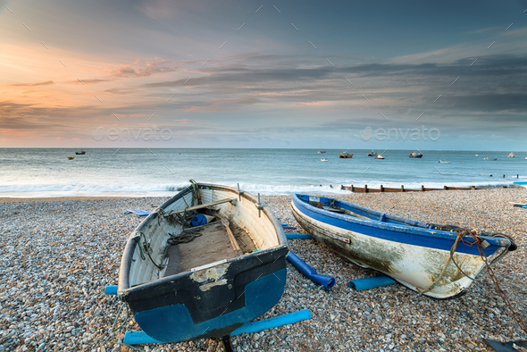 Selsey Beach - Stock Photo - Images