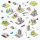 Isometric City Map Set - GraphicRiver Item for Sale