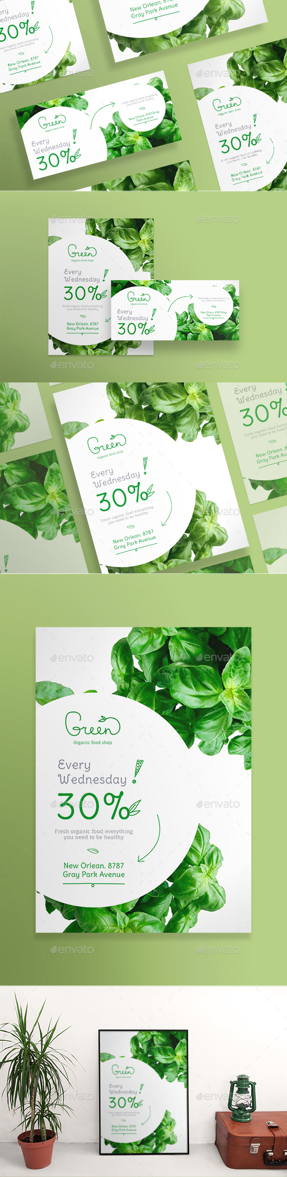 Organic Food Flyers - Miscellaneous Events