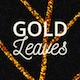 20 Gold Glitter Leaves - GraphicRiver Item for Sale