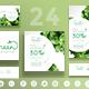 Organic Food Social Media Pack
