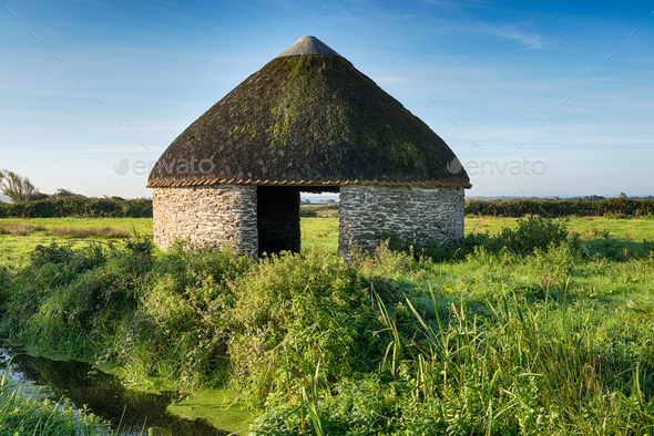 Thatched Barn - Stock Photo - Images
