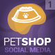 PetShop - Social Media Cover/Profile Pack - GraphicRiver Item for Sale