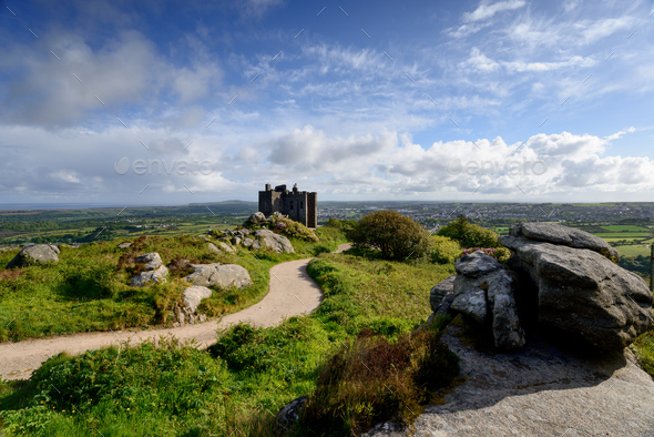 Carn Brea Castle - Stock Photo - Images
