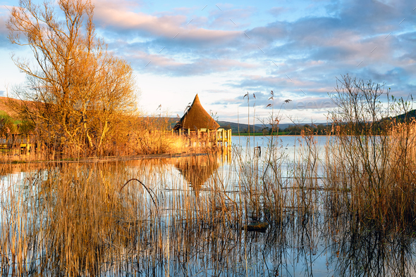 Llangorse Lake - Stock Photo - Images