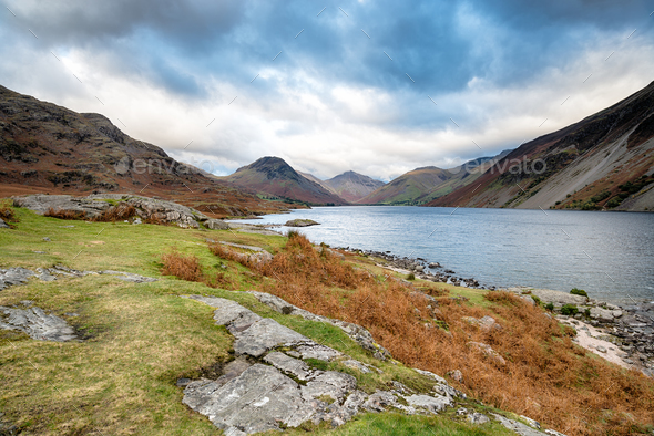 Wastwater in Cumbria - Stock Photo - Images