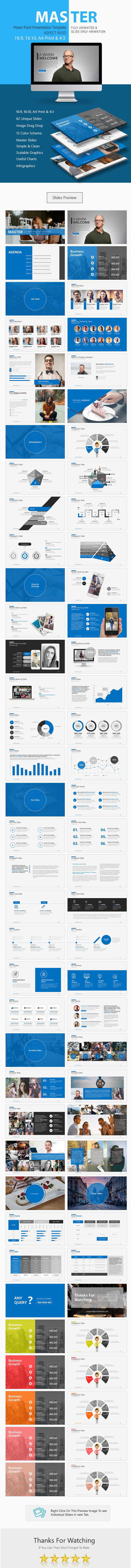 Master Power Point Presentation - Business PowerPoint Templates