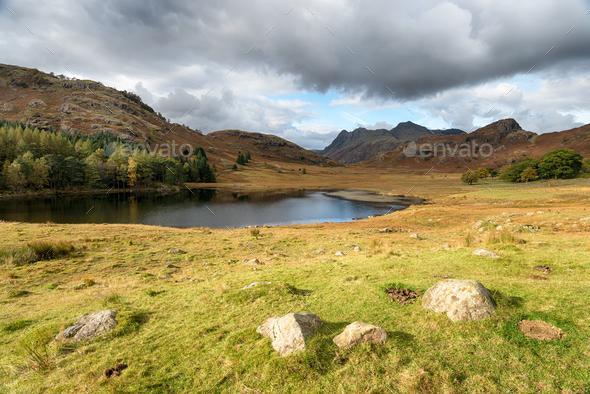Blea Tarn in Cumbria - Stock Photo - Images