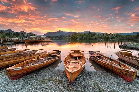 Lake district 380 - Stock Photo - Images