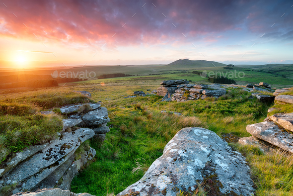 Garrow tor 010 - Stock Photo - Images