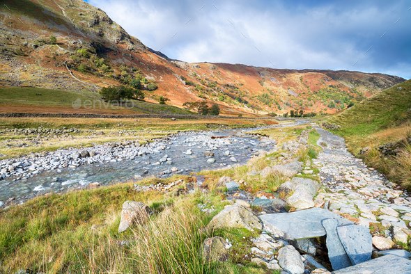 Southwaite in the Lake District - Stock Photo - Images