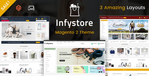 Infystore - Responsive Magento 2 Theme