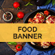 Delicious Food Banner