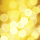 Bokeh Gold Abstract Background