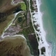 Aerial View of Wetland Behand the Black Sea in Ukraine - VideoHive Item for Sale