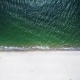 Aerial View of Sea Waves Crashing on Beach - VideoHive Item for Sale