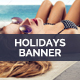 Beach Tourism Banner - GraphicRiver Item for Sale