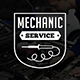 Mechanic Logo & Badge - GraphicRiver Item for Sale